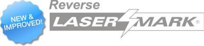 Reverse laser mark logo - new and improved